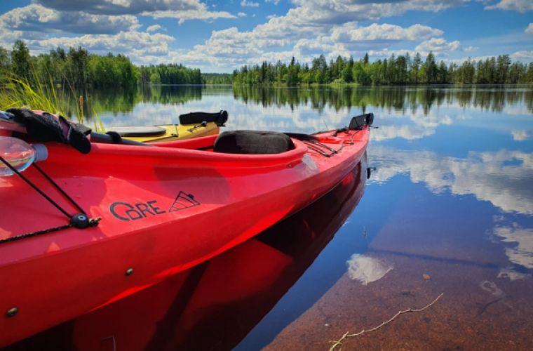 Vuokrakajakki, kanootti, KoiHu Adventures, Ilomantsi